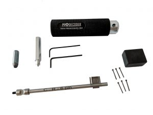 Double Bit Lever Locks Kit PRO Edition CR 6 pins invented and produced by PRODECODERS.COM