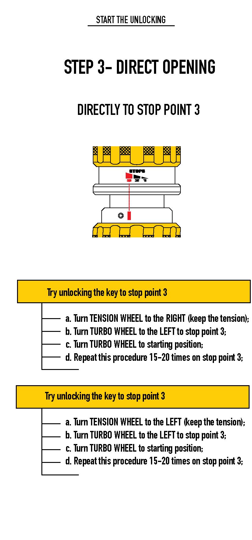 HU100 Decoder lock picking