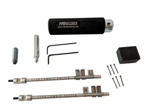 Double Bit Lever Locks Kit PRO Edition Cisa Cambio Facile invented and produced by PRODECODERS.COM
