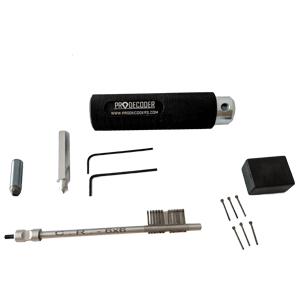 Double Bit Lever Locks Kit PRO Edition CR 6x6 pins invented and produced by PRODECODERS.COM