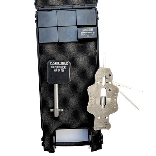 Decoder for CR front pump locks