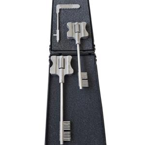 Doppia Mappa Double Bit Lever Locks Kit