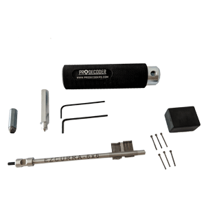 Double Bit Lever Locks Kit PRO Edition ezcurra-6x6 pins invented and produced by PRODECODERS.COM