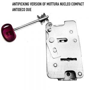 Mottura Nucleo compact anti pick locks