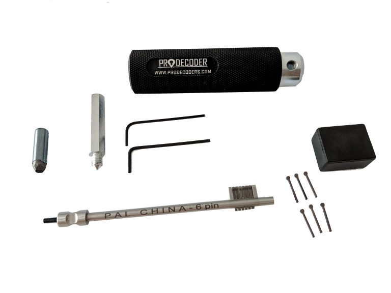 Double Bit Lever Locks Kit PRO Edition china 6 plates invented and produced by PRODECODERS.COM