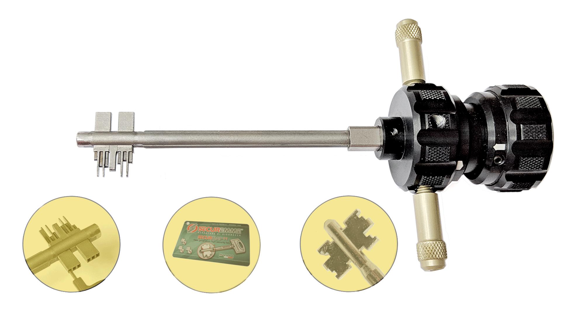 Prodecoder Automatic Securemme 3x3 securmap