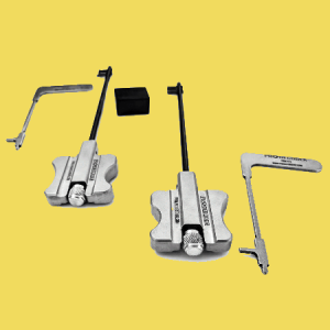 Single Kit Double Bit Locks