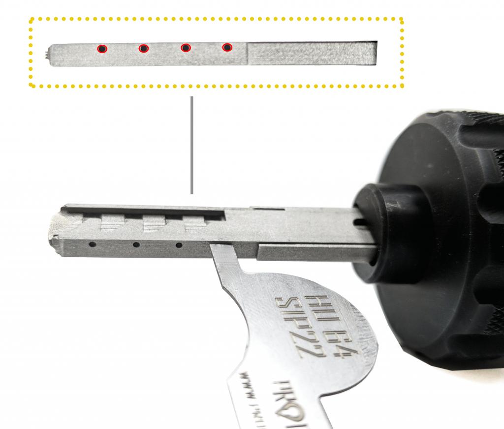 reset procedure prodecoder sip22